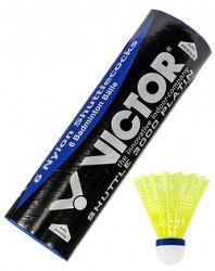 Bedmintonové košíky Victor Nylon Shuttle 3000 Platin - Yellow (6 ks)