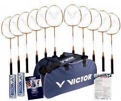 Bedmintonový set Victor Allround Paket 12 rakiet