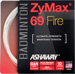 Bedmintonový výplet Ashaway ZyMax 69 Fire white