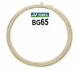 Bedmintonový výplet Yonex Micron BG65 White (0.70 mm)