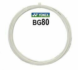 Bedmintonový výplet Yonex Micron BG80 White (0.68 mm)