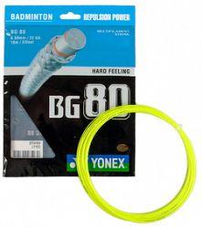 Bedmintonový výplet Yonex Micron BG80 Yellow (0.68 mm)