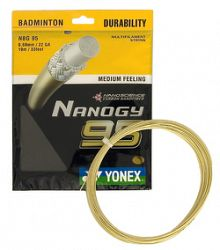 Bedmintonový výplet Yonex Micron NBG 95 Nanogy (0.69 mm)