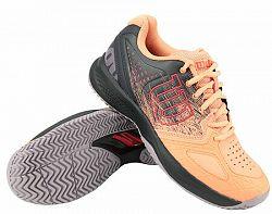 BLACK FRIDAY - Dámska tenisová obuv Wilson Kaos Comp 2.0 Papaya