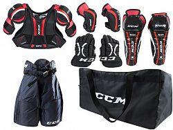BLACK FRIDAY - Detský set chráničov CCM U+ Entry Kit Yth