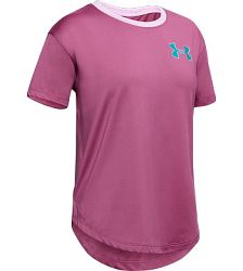 BLACK FRIDAY - Dievčenské tričko Under Armour HG SS ružové