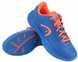 BLACK FRIDAY - Juniorská tenisová obuv Head Revolt Pro 3.0 Blue/Red