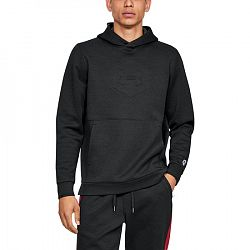 BLACK FRIDAY - Pánska mikina Under Armour Athlete Recovery Fleece Graphic Hoodie čierna