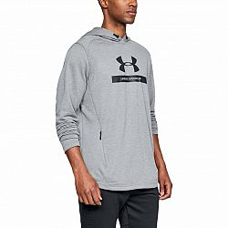 BLACK FRIDAY - Pánska mikina Under Armour MK1 Terry Graphic Hoodie Grey