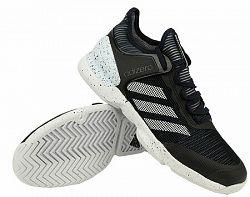 BLACK FRIDAY - Pánska tenisová obuv adidas Adizero Ubersonic 2 Black