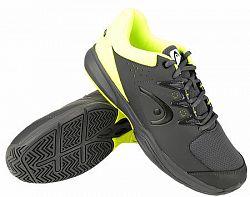 BLACK FRIDAY - Pánska tenisová obuv Head Brazer 2.0 Anthracite/Yellow
