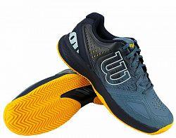 BLACK FRIDAY - Pánska tenisová obuv Wilson Kaos Comp 2.0 Clay Navy/Blue