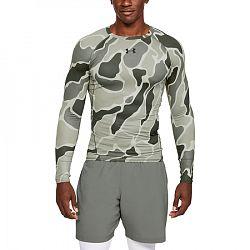 BLACK FRIDAY - Pánske tričko Under Armour HG Armour LS Nov zelené