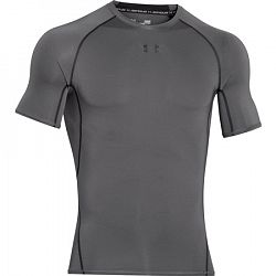 BLACK FRIDAY - Pánske tričko Under Armour HG Armour SS Light Grey