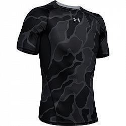 BLACK FRIDAY - Pánske tričko Under Armour HG Armour SS Nov čierne