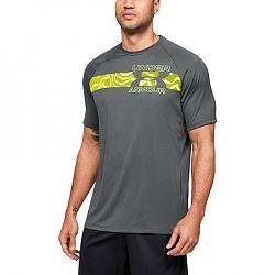 BLACK FRIDAY - Pánske tričko Under Armour Tech 2.0 Graphic SS šedé