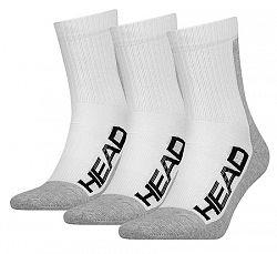 BLACK FRIDAY - Ponožky Head Tennis Performance White/Grey (3 páry)