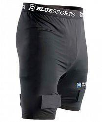BLACK FRIDAY - Šortky so suspenzorom Blue Sports Classic Compression Short SR