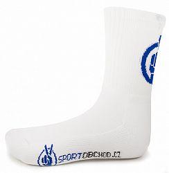 BLACK FRIDAY - Športové ponožky Voxx Mystic White - dlhé biele