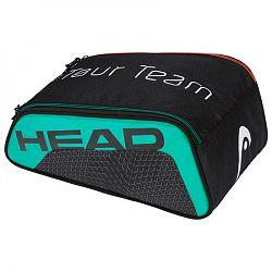 BLACK FRIDAY - Taška na obuv Head Tour Team Shoe Bag Black/Teal