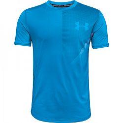 Chlapčenské tričko Under Armour Raid SS Tee modré