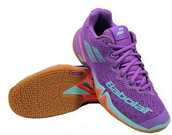 Dámska halová obuv Babolat Shadow Tour Purple/Blue/Red