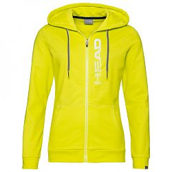 Dámska mikina Head Club Greta Hoodie Yellow/White