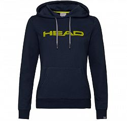 Dámska mikina Head Club Rosie Hoodie Dark Blue/Yellow