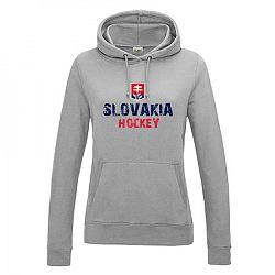 Dámska mikina s kapucňou Slovakia Hockey
