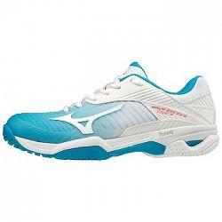 Dámska tenisová obuv Mizuno Wave Exceed Tour 3 Clay Blue/White