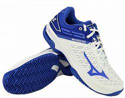 Dámska tenisová obuv Mizuno Wave Exceed Tour 4 CC White/Blue