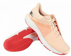 Dámska tenisová obuv Wilson Kaos 3.0 Clay Papaya