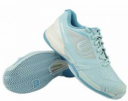 Dámska tenisová obuv Wilson Rush Pro 2.5 2019 Clay Light Blue