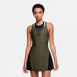 Dámske šaty Nike Court Maria Olive