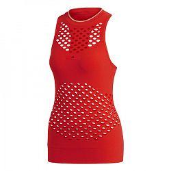 Dámske tielko adidas SMC Seamless Tank Red