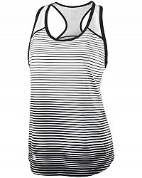 Dámske tielko Wilson Team Striped Black/White