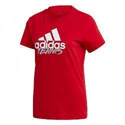 Dámske tričko adidas Tenis Red