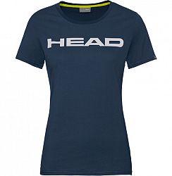 Dámske tričko Head Club Lucy Navy/White