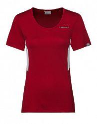 Dámske tričko Head Club Tech Red
