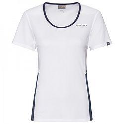Dámske tričko Head Club Tech White/Navy