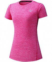 Dámske tričko Mizuno Impulse Core Tee ružové