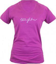 Dámske tričko Tecnifibre Lady Cotton Prune