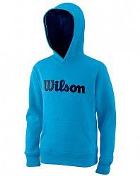 Detská mikina Wilson Cotton PO Hoody Blue