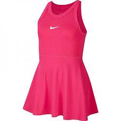 Detské šaty Nike Court Dri-Fit Vivid Pink
