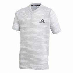 Detské tričko adidas Boys Freelift Tee Primeblue Light Grey
