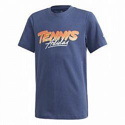 Detské tričko adidas Kids Tennis Graphic Tee Navy