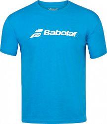Detské tričko Babolat Exercise Tee Blue