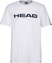 Detské tričko Head Club Ivan White/Dark Blue
