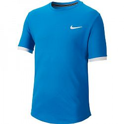 Detské tričko Nike Court Dry Top SS Blue