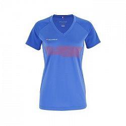 Detské tričko Tecnifibre Lady F2 Airmesh Blue